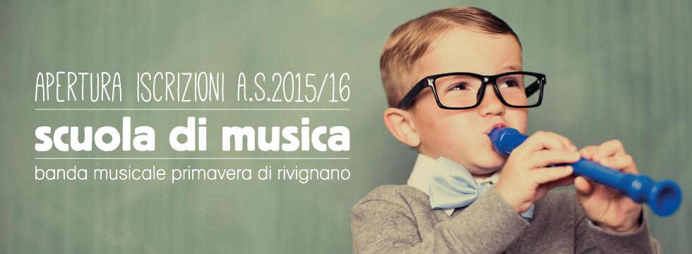 scuola di musica 2015/2016
